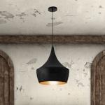 Copper Ceiling Lamp