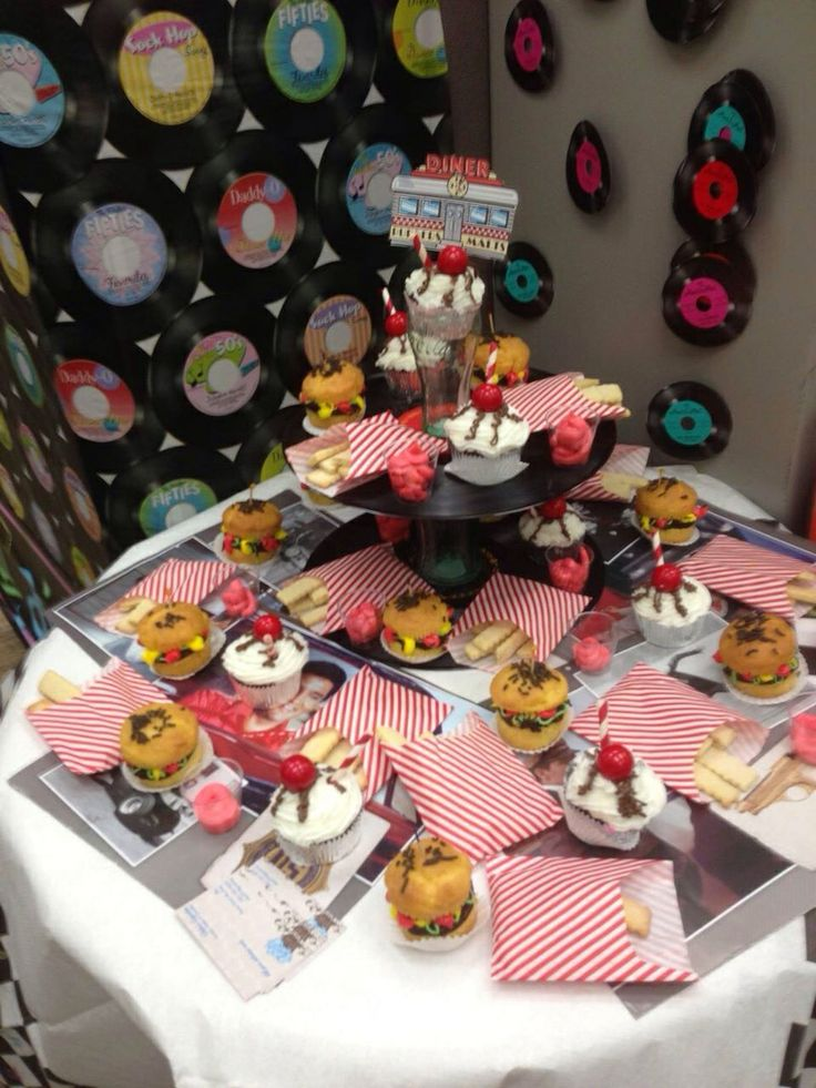 126 Best Images About 50's Diner Party On Pinterest