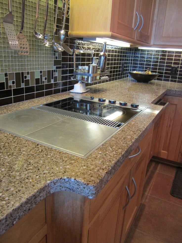 Residential Kitchen Countertop Application In Lincoln, Nebraska