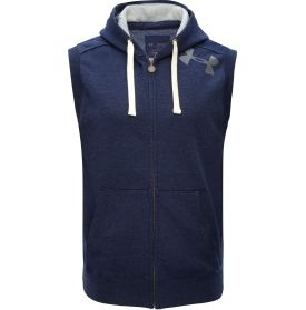 Under Armour Men's Charged Cotton Legacy Hooded Vest - Dick's Sporting Goods