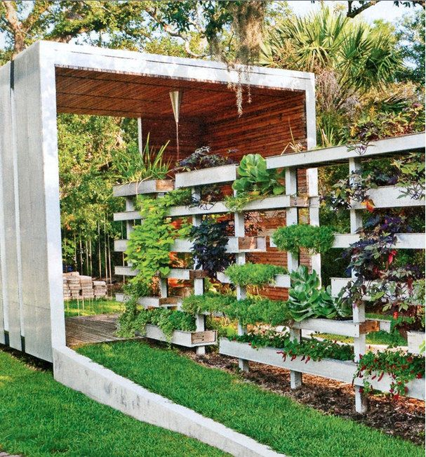 Planters/Fence