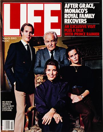 LIFE Magazine March 1983 - The Royal Family of Monaco after Princess Grace / MASH Shoots final episode