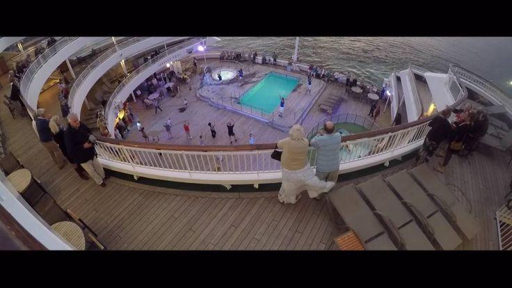 nice P&O Aurora Caribbean Cruise Pt01 - Departure from Southampton