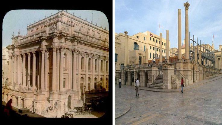 Casa de la ópera real construida en 1866 en La valleta (Malta)