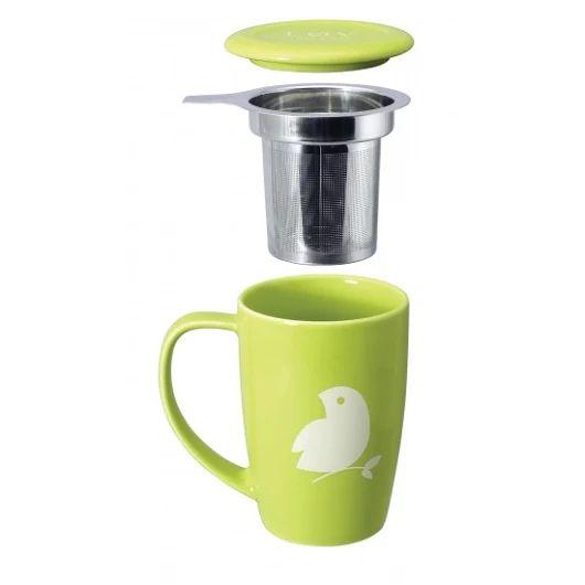 Proste rozwiązania są najskuteczniejsze. Kubek z zaparzaczem i podstawką + herbata organiczna Løv Organic  https://homeandfood.eu/lovorganic