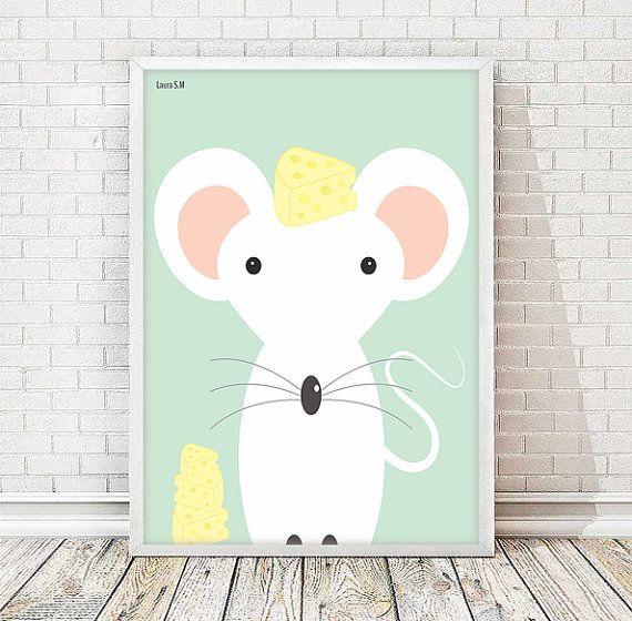 laminas infantiles, laminas animales, animales infantiles,lamina raton,cuadros animales, cuadros infantiles, laminas a4, laminas imprimibles