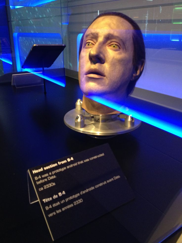 """A prop from the Star Trek: The Starfleet Academy Experience, summer 2016. """"Apologies, Captain.  I seem to have reached an odd functional impasse.  I am...stuck."""""""