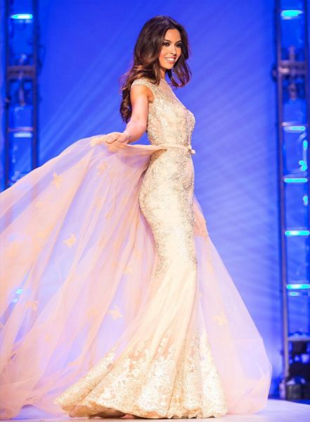 Carolina Urrea made Santa Monica proud as she placed in the Top 5 at the Miss California USA pageant. She presented a look of glamour and sophistication that took her far in the competition.