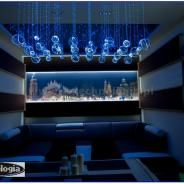 LED lighting showroom - oświetlenie LED salonu e-technologia