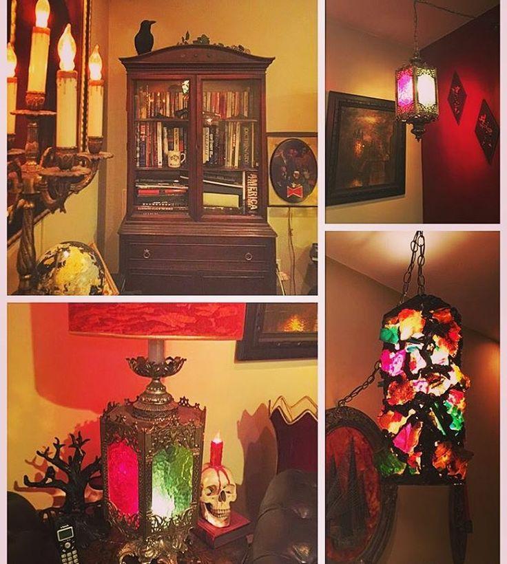 Inside the Mansion #gothdecor #vampirecrib #vampire #dracula #vampireguy13 #therealdracula #mansion #thehauntedmansion