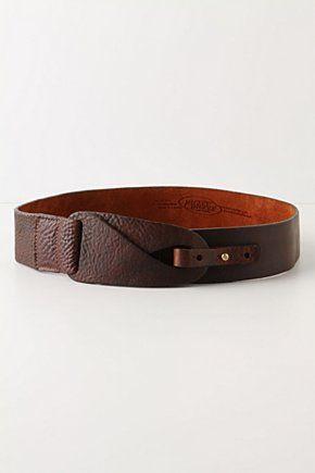 Love a good belt. Anthropologie A copie absolument! peut-être un peu plus large...