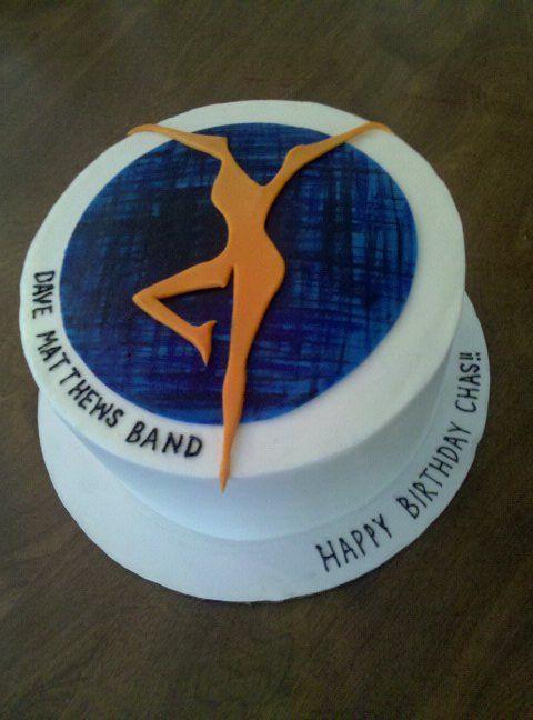 Dave Matthews Band Cake - SO COOL!