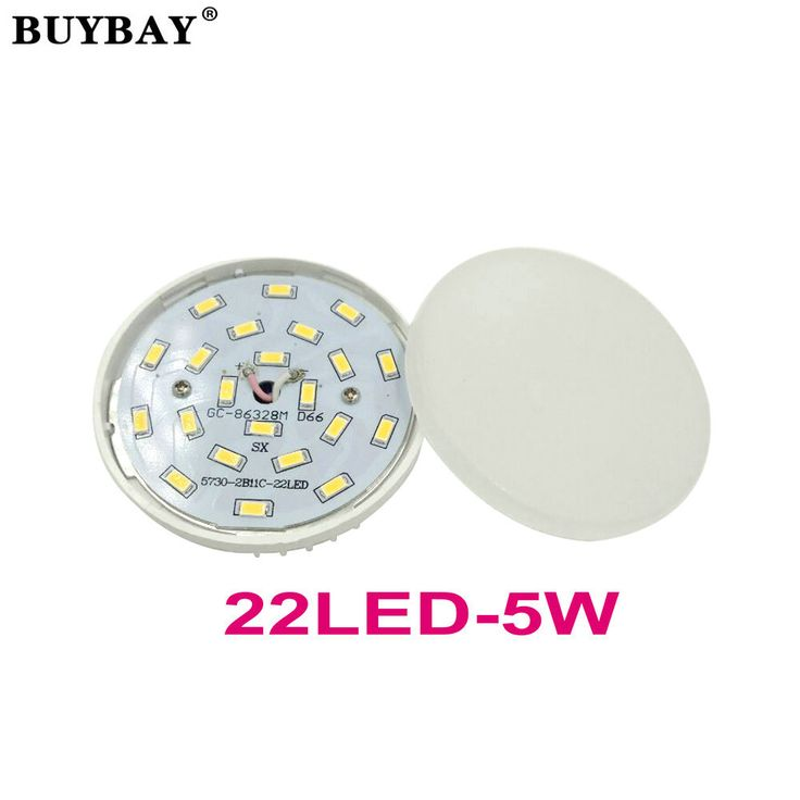 $4.11 (Buy here: https://alitems.com/g/1e8d114494ebda23ff8b16525dc3e8/?i=5&ulp=https%3A%2F%2Fwww.aliexpress.com%2Fitem%2FBUYBAY-GX53-LED-lamp-5W-downlight-ultra-bright-GX53-led-bulb-SMD5730-22LED-spotlight-warm-white%2F32775712961.html ) BUYBAY GX53 LED lamp 5W downlight ultra bright GX53 led bulb SMD5730 22LED spotlight warm white/white 90-260V no flicker 500LM for just $4.11