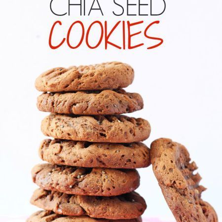 Make delicious and healthy Chocolate Chia Seed Cookies with just 4 simple ingredients! My Fussy Eater blog