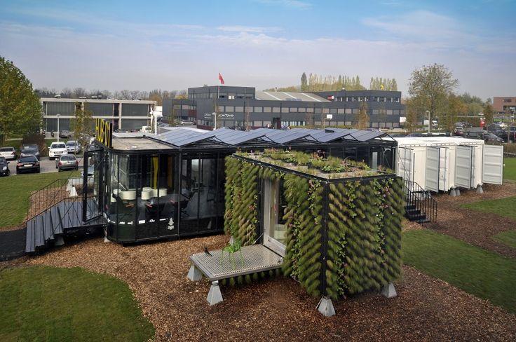 Architecture Photography: Hub 01 – Mobile Student Housing Terminal / dmvA Architecten + A3 Architects (312867)