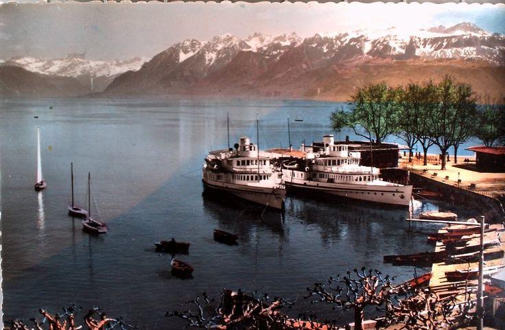 Le port d'Ouchy (Roger Favre) #Lausanne #Suisse #Schweiz #Switzerland #Vaud #Leman