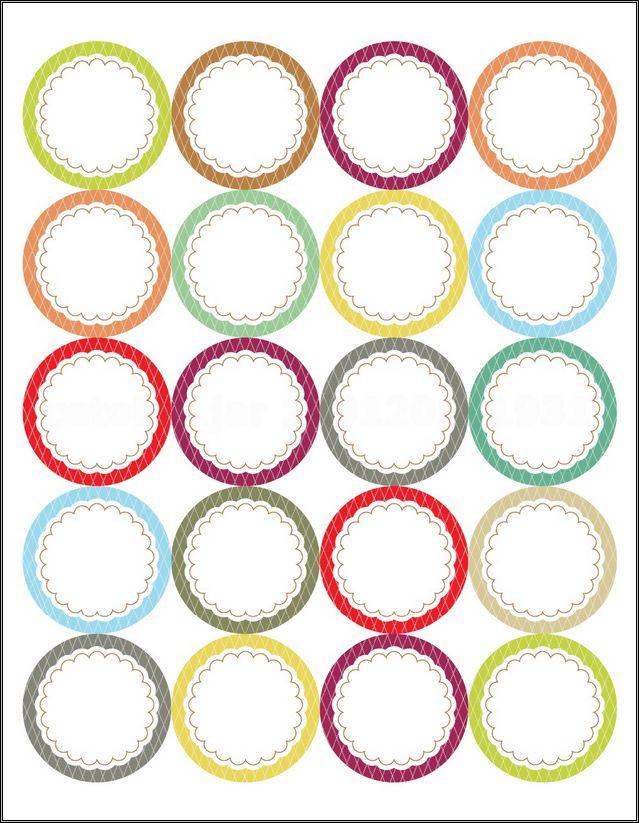 Blank Mason Jar Label Template Feelin39 Crafty Pinterest Canning Jar Labels Jar Labels And