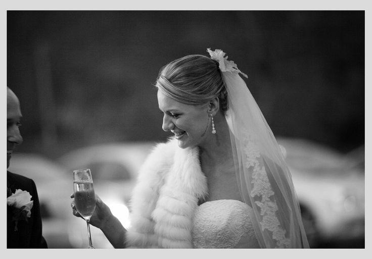 The bride's veil