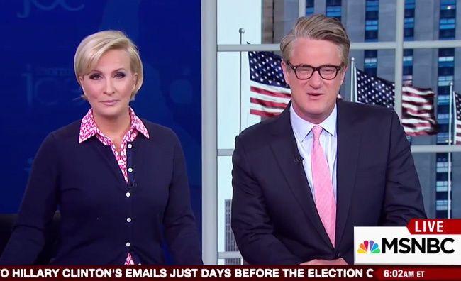 "Joe Scarborough, the nominal Republican who hosts the Beltway's favorite daily politics show, MSNBC's ""Morning Joe, used to be a voice of reason on a network filled to the brim with liberal hysteria. No more. Since about halfway through the 2016 election, Scarborough has become intolerably anti-Trump and the Republican National Committee has taken notice. …"