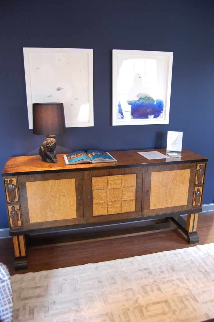 Hand carved amp upholstered chair late 1800 s grand rapids mi area - Art Deco Bibliotek Sideboard Attributed To Eliel Saarinen From Bjork Antikt Studio Showcased At The