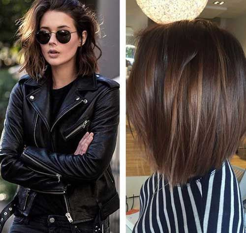 Best 25 Brunette bob haircut ideas on Pinterest