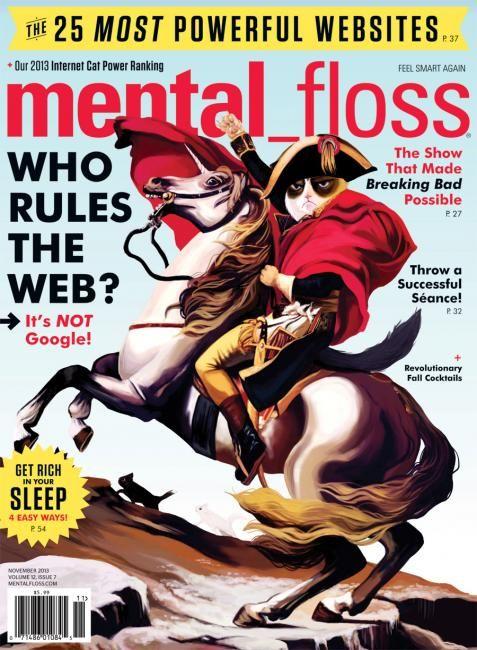 Mental floss magazine, books & their t-shirts.