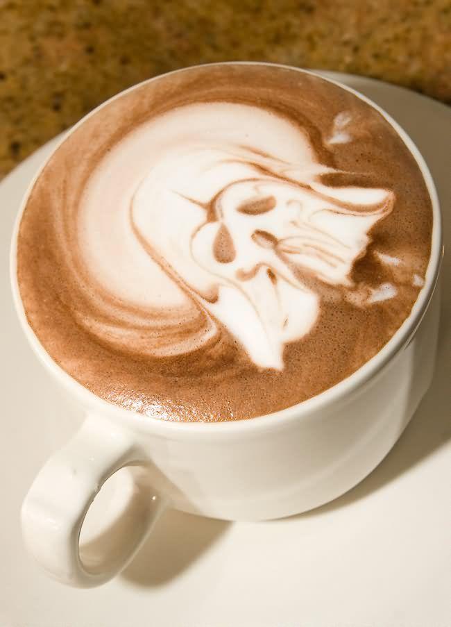 Dark Side Of The Coffee #starwars #cafe: Darth Vader, Latte Art, Stars War, Coffee, Dark Side, Stuff I Like, Cafe Art, Memorial Art, Starwars