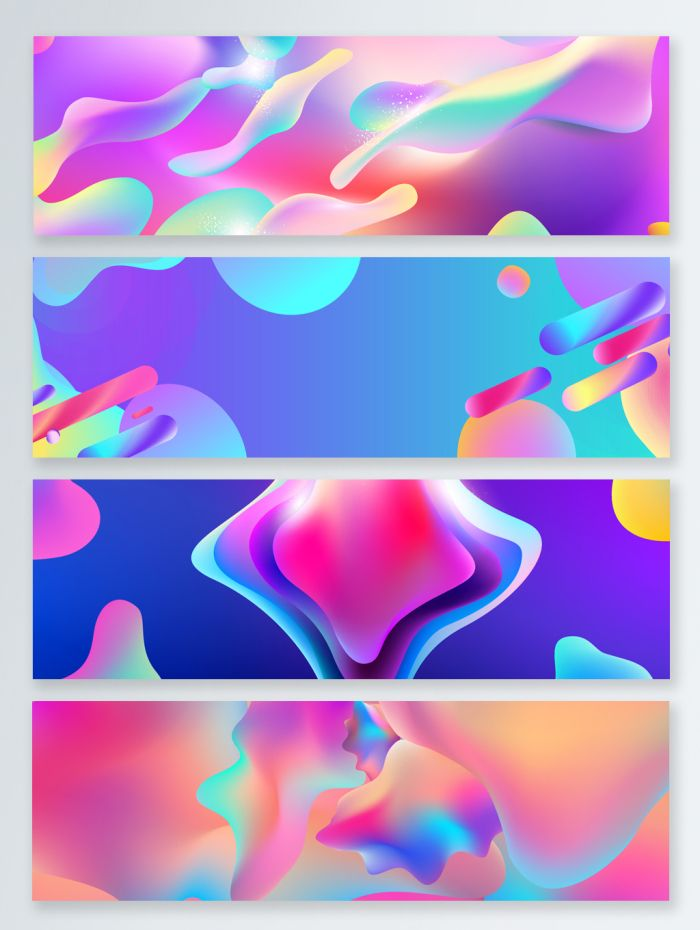Beautiful Sale E Commerce Promotion Fluid Gradient Banner Heypik Fluidgardient Abstract Creative Dreamy Fantasy Aesthetical Bac Banner Abstract Creative