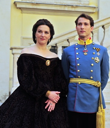 Sisi (2009) Franz Joseph - David Rott - archduchess Sophie.