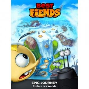 Best Fiends from Seriously is a line-matching, puzzle game with a cast of cute critters known as the Fiends.