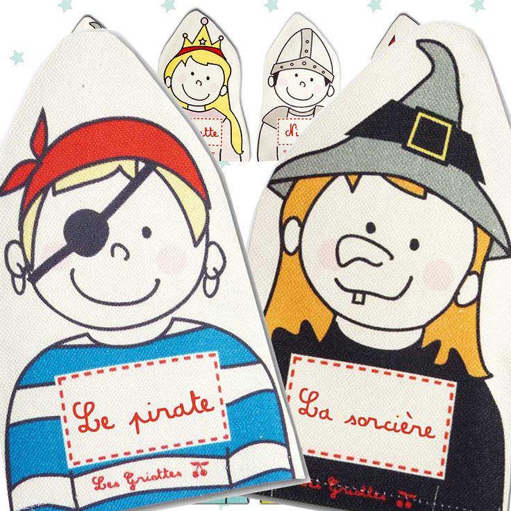 Marionnettes et contes de fées, ou de pirates !