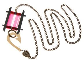 Crab Line Necklace - Red £30 (sale £15) - SS09 Leisure Pursuits