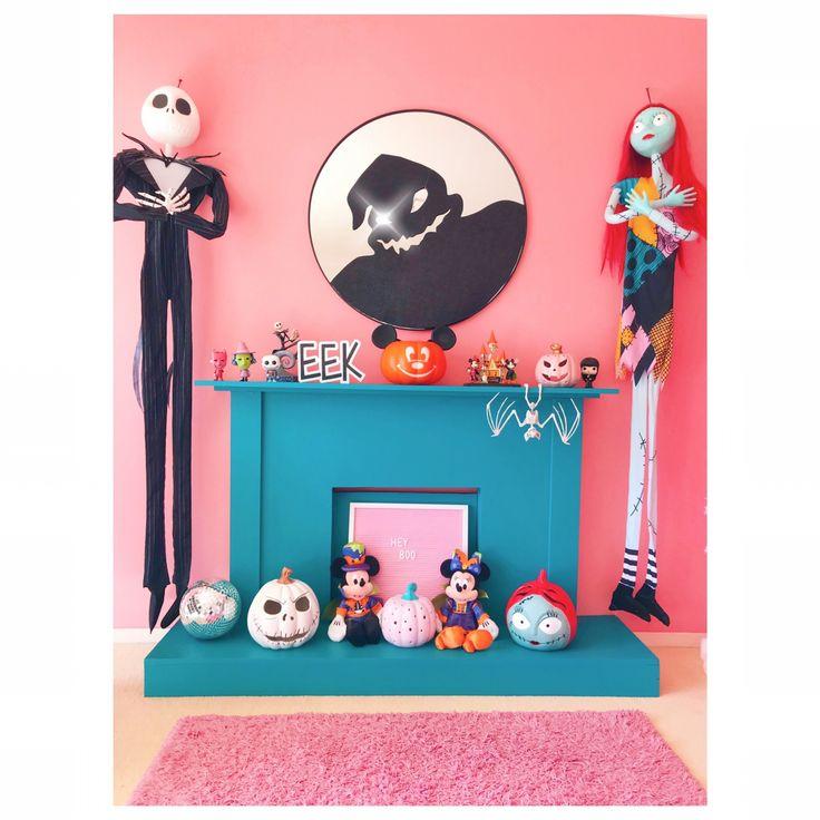 Happy Halloween Pastel goth decor, Halloween decorations