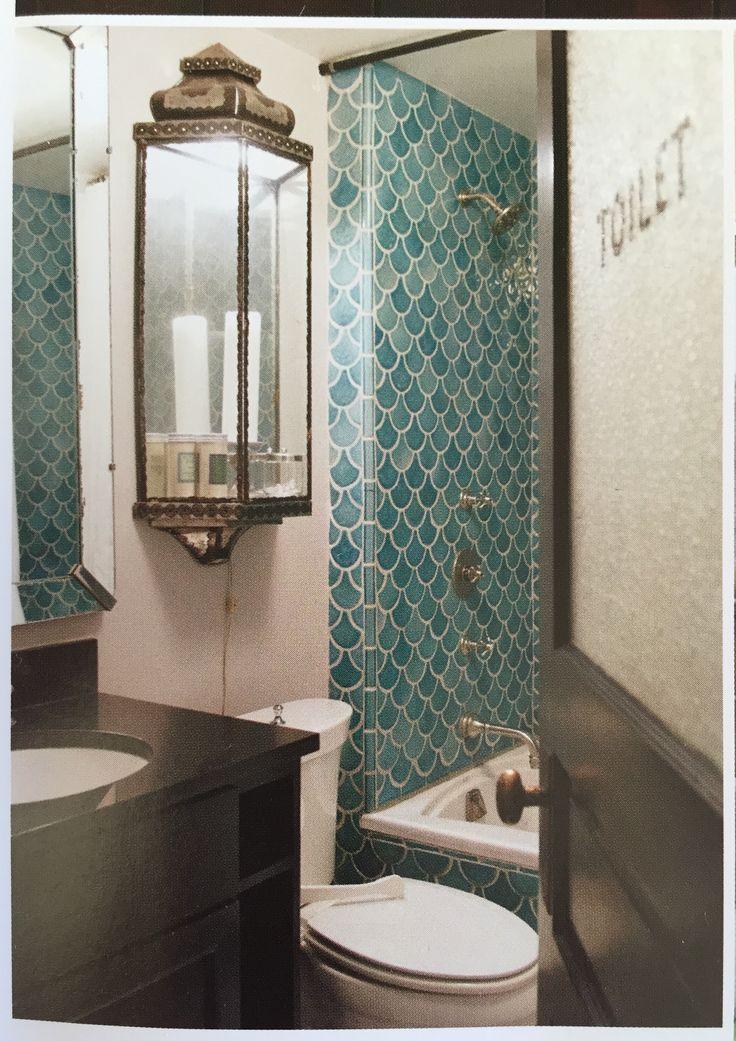 Moroccan Inspired Wall Light Display Shelf