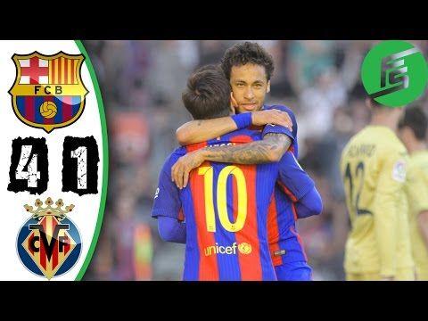 Video: Barcelona vs Villarreal 4-1 - Highlights & Goals  http://abdulkuku.blogspot.co.uk/2017/05/video-barcelona-vs-villarreal-4-1.html