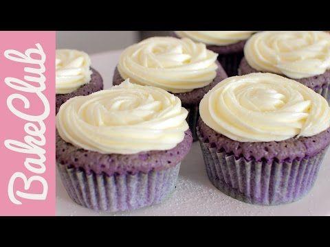 Lavendel-Honig-Cupcakes - BakeClub