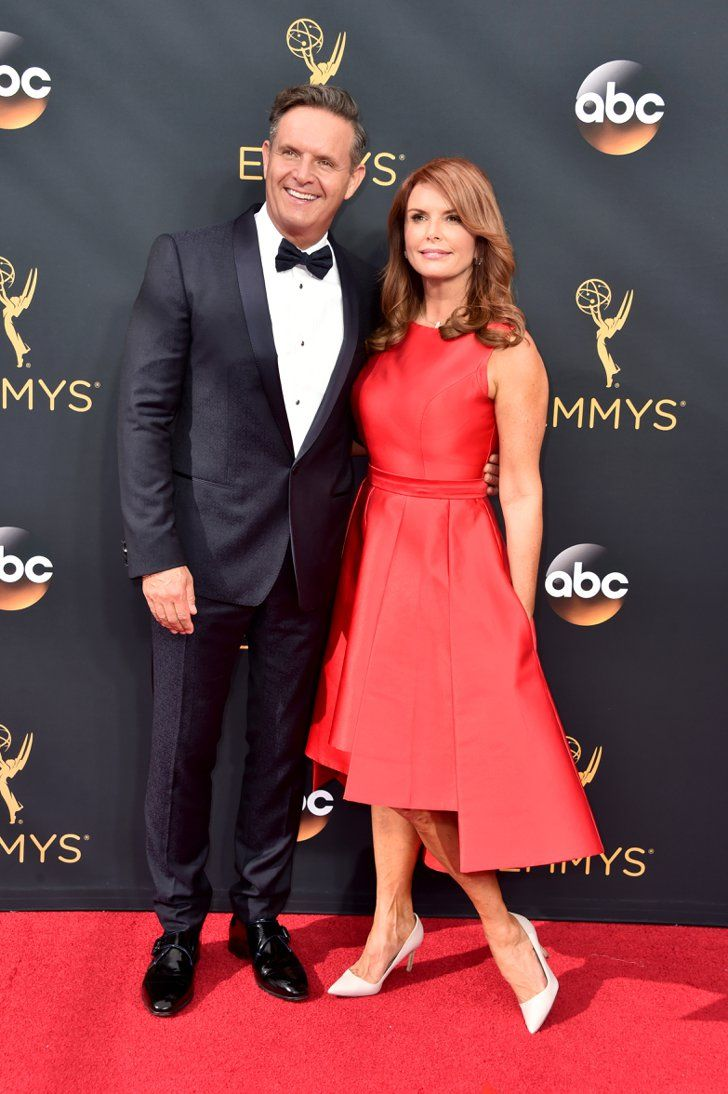 Hollywood Couples Raked In Some Cute Moments at the Emmys Mark Burnett and Roma Downey