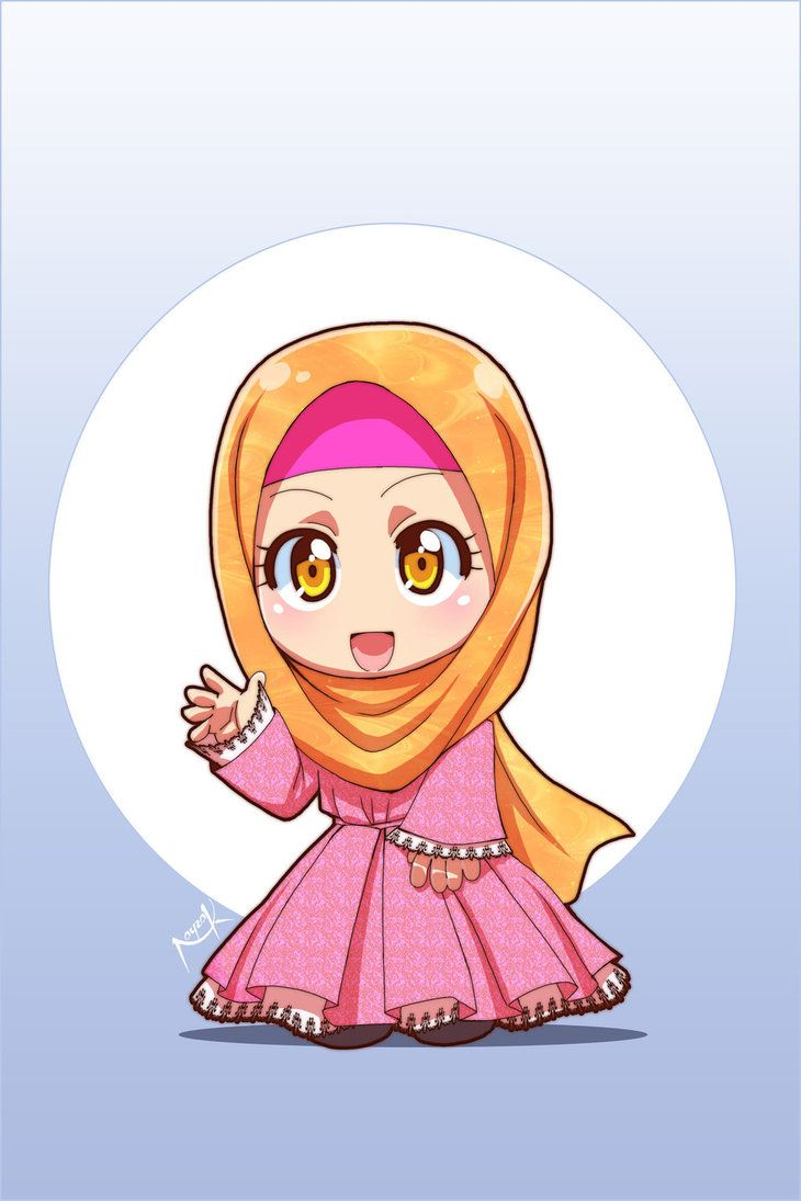 17 Best Images About Anime Muslim On Pinterest Chibi Drawings