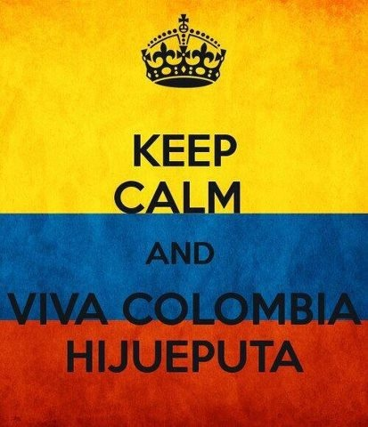 I'm Proud to be Colombian!!!