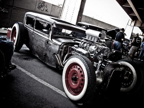 Now that's a #RatRod! #Custom #Classic #HotRod #Style #Design #Cool