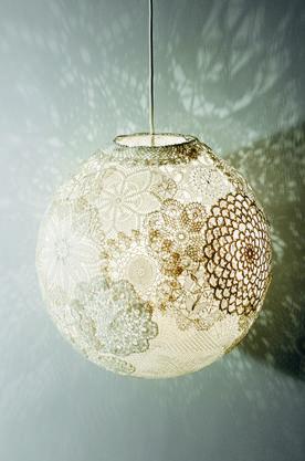 Lampa av loppisdukar - Fixa - Hus & Hem
