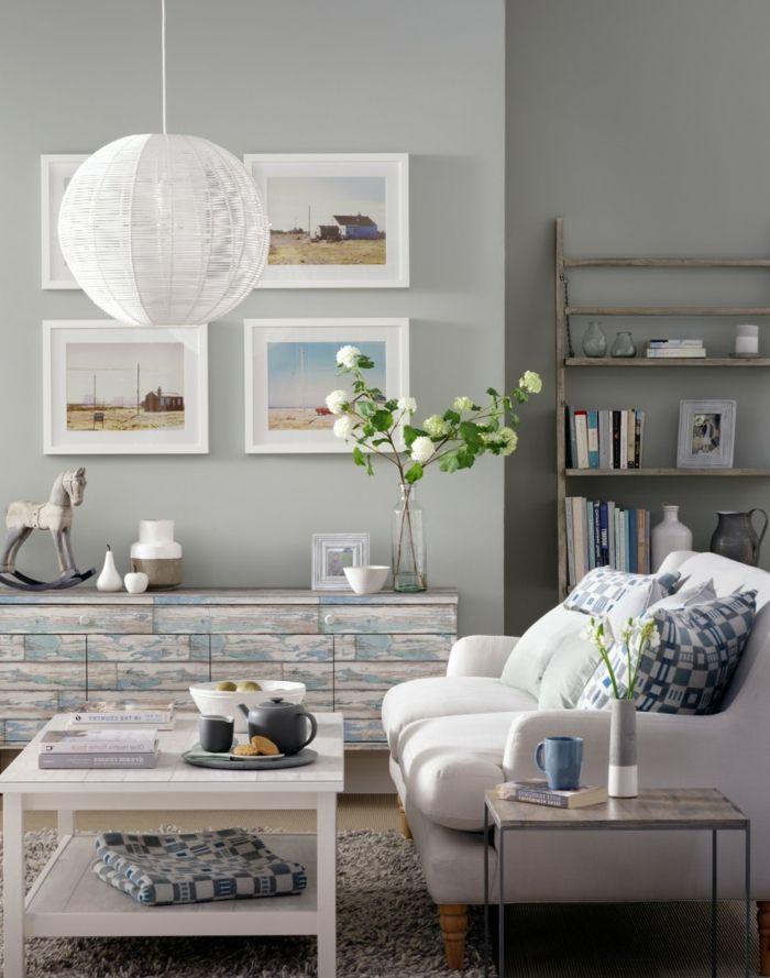 Sehen Sie Sich Diese Wohnzimmer Streichen Ideen An Und Sammeln Inspiration Fr Das Zuhause Manchen Menschen Ist Bliche Weiss Sehr Steril Zugleich