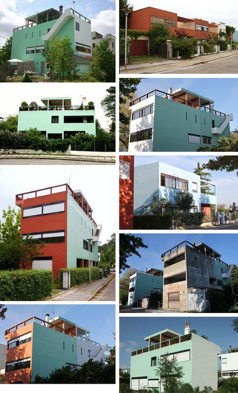 Gironde : Cité Frugès à Pessac by Le Corbusier