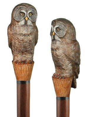 Custom Hand carved wood walking staffs, carved wood hiking staffs, carved hiking sticks by Ivan Wilson of Wilson Staffs