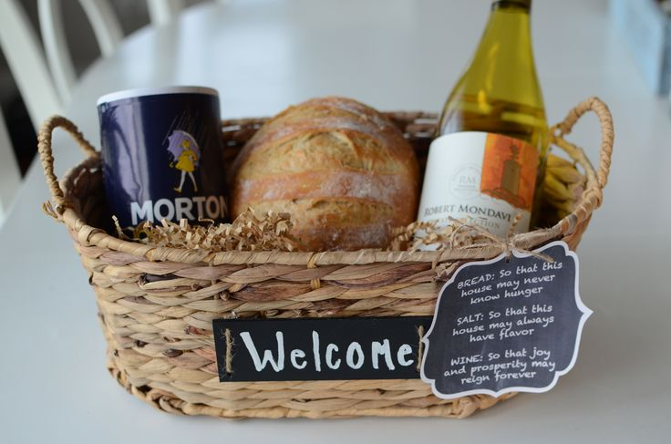 New neighbor welcome basket or housewarming gift