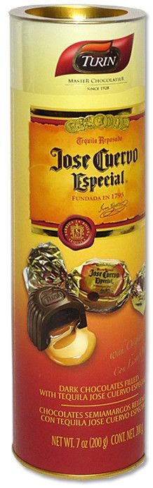 Turin chocolate - heavenly tequilla filled chocolates