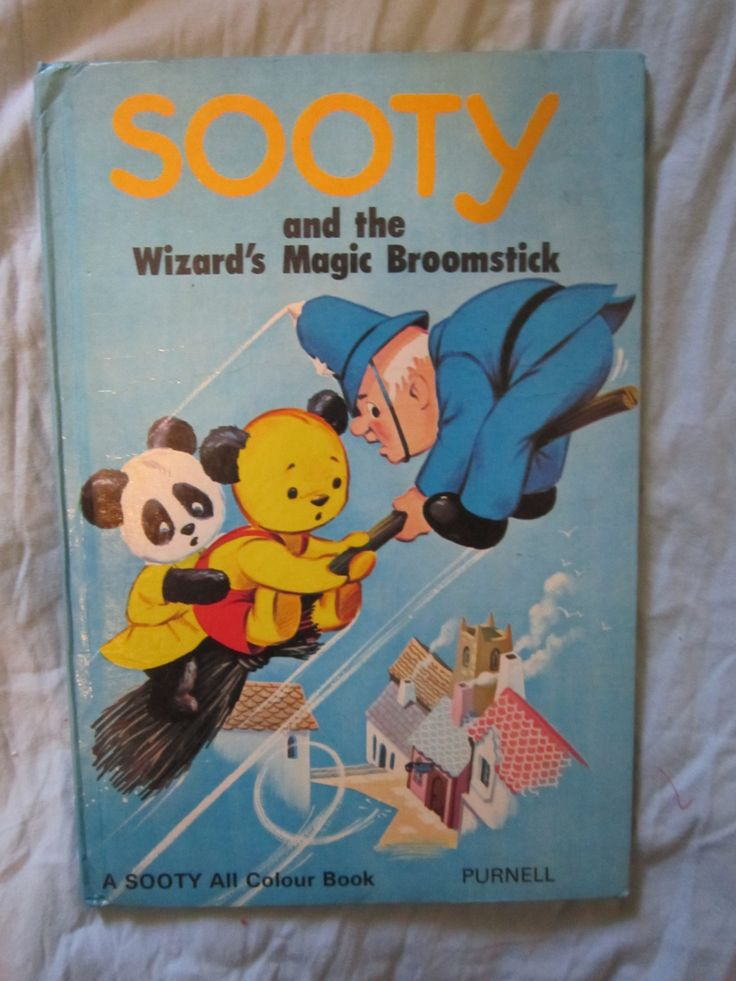 Sooty and the wizard's magic broomstick book