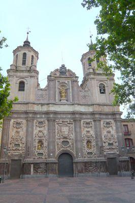 Zaragoza, Spain. Iglesia de Santa Isabel de Portugal o San Cayetano