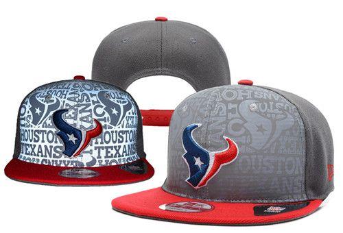 NFL Houston Texans Logo Stitched Snapback Hats 014