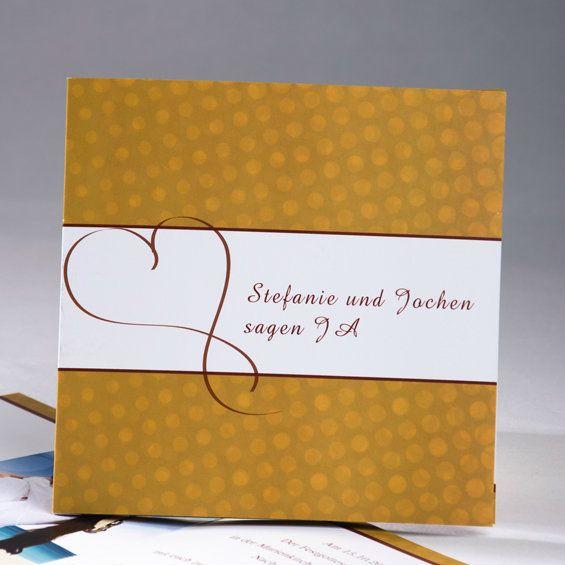 Gefühle blühen Im Winter kann Frühling werden  Goldrute Blanko Einladungskarten
